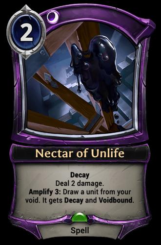 Nectar of Unlife card