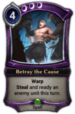 Betray the Cause