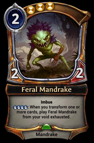 Feral Mandrake card