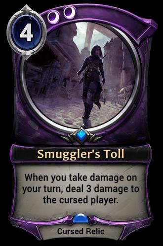 Smuggler's Toll card