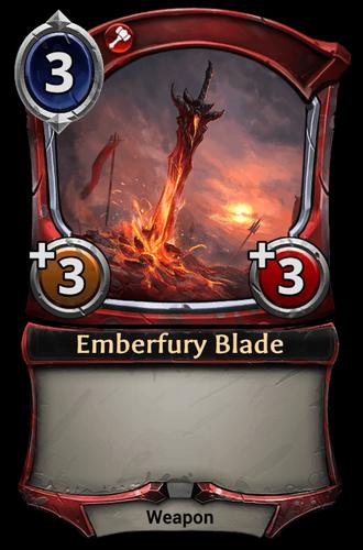 Emberfury Blade card