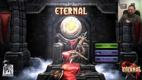 Eternal Card Game Live Stream Demo 2 - Ft
