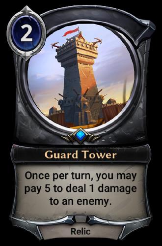 Guard Tower card