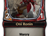 Oni Ronin