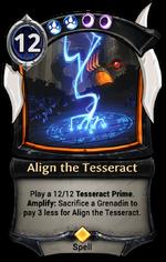 Align the Tesseract