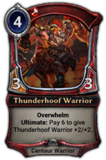 Thunderhoof Warrior