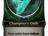Champion's Oath
