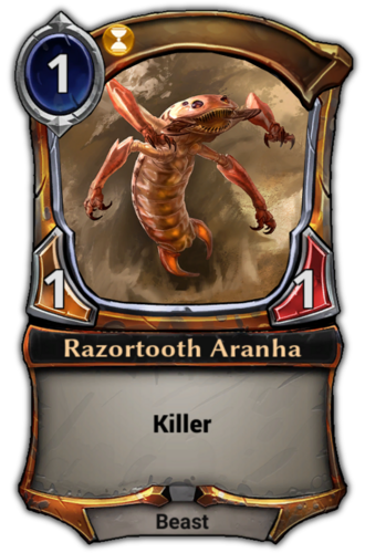 Razortooth Aranha card