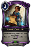 Xumuc Coercion