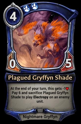 Plagued Gryffyn Shade card