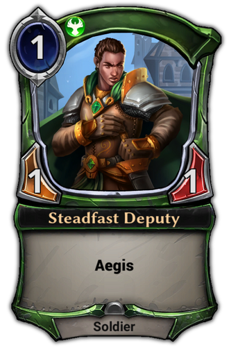 Steadfast Deputy card