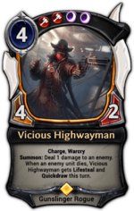 Vicious Highwayman