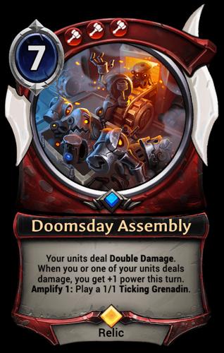 Doomsday Assembly card