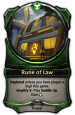 Rune of Law