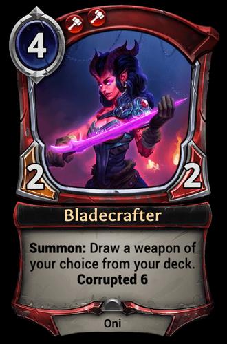Bladecrafter card