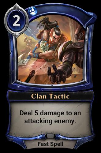 Clan Tactic card