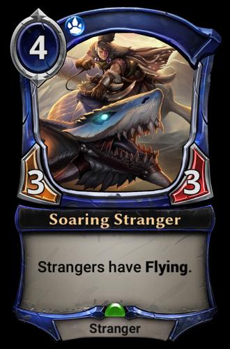 Soaring Stranger card
