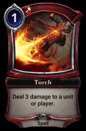 Torch card