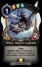 Hifos, Reach Captain