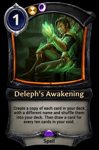 Deleph's Awakening card