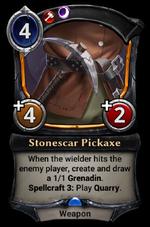 Stonescar Pickaxe