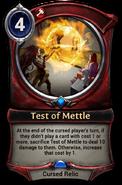 Test of Mettle