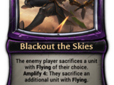 Blackout the Skies