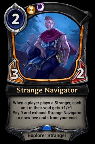Strange Navigator card