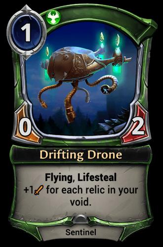 Drifting Drone card