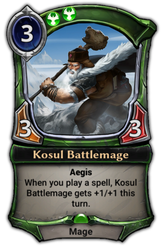 Kosul Battlemage card