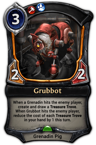Grubbot card