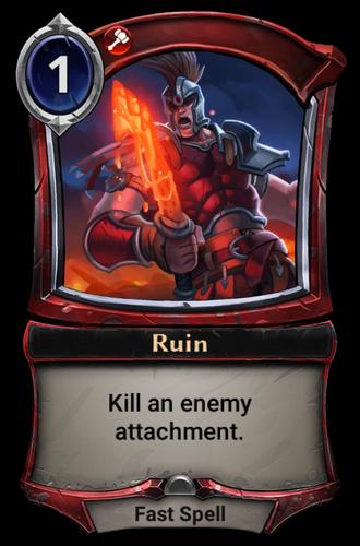 Ruin card