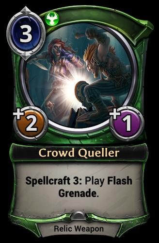 Crowd Queller card