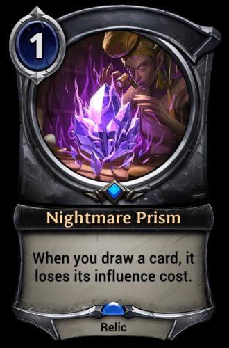 Nightmare Prism card