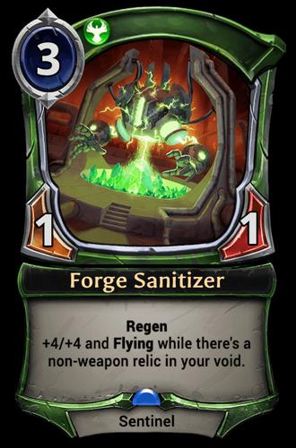 Forge Sanitizer card
