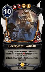 Goldplate Goliath