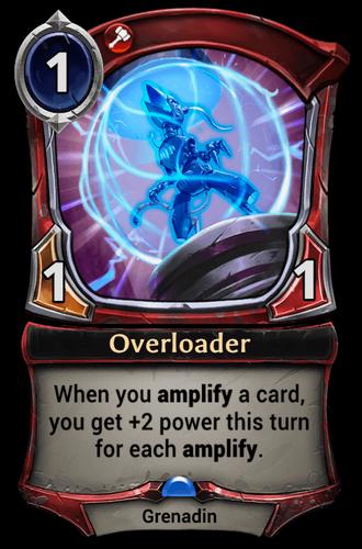 Overloader card