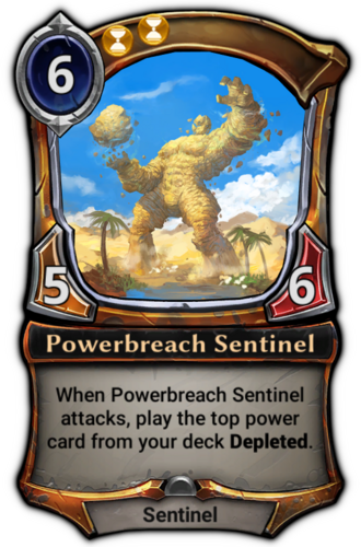 Powerbreach Sentinel card