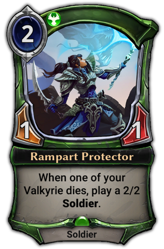 Rampart Protector card