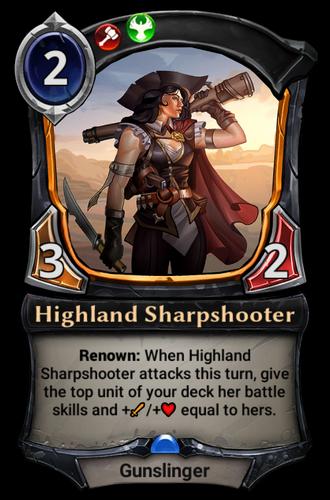 Highland Sharpshooter card