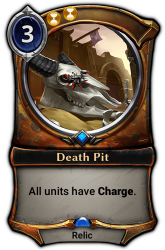 Death Pit card