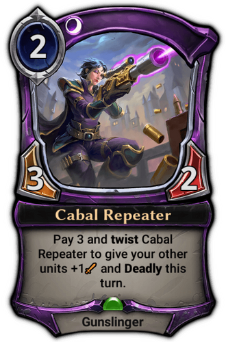 Cabal Repeater card