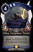 Ulixa, Unspoken Terror