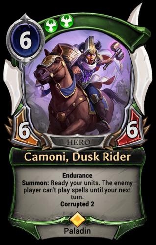 Camoni, Dusk Rider card