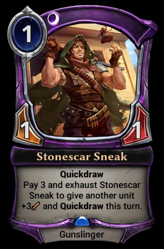 Stonescar Sneak card