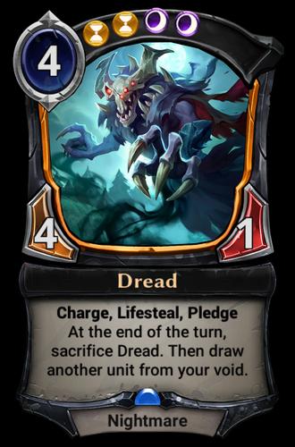 Dread card