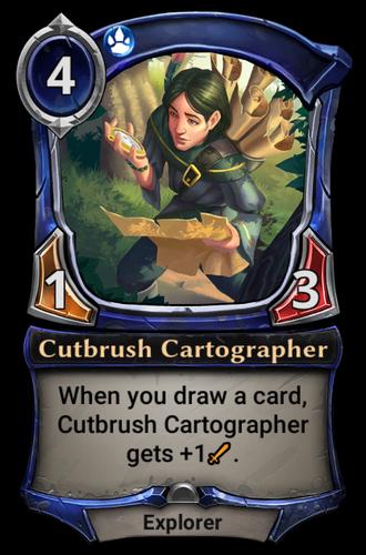 Cutbrush Cartographer card