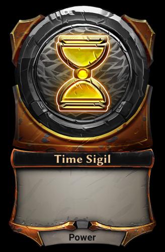 Time Sigil card