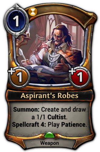 Aspirant's Robes card
