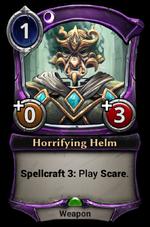 Horrifying Helm
